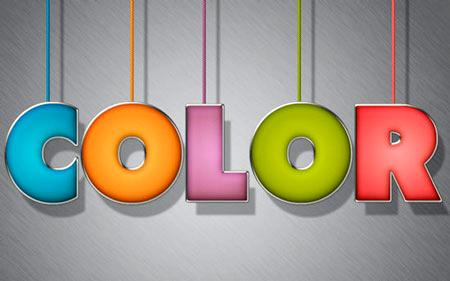 Colorful text in Photoshop • Adobe Photoshop Tutorials