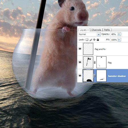 Hamster - Jolly Roger • Adobe Photoshop Tutorials