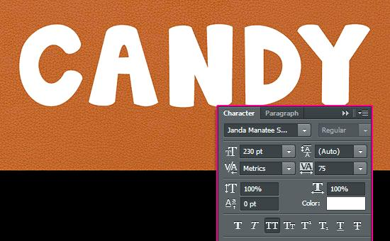 Sweet Text From Toffee In Photoshop Adobe Photoshop Tutorials