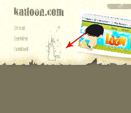 Animated site layout.
